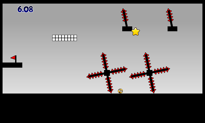Super Jumpy Ball be ware of spikes