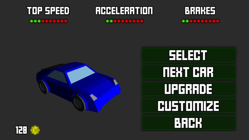 Pixel Driver Garage