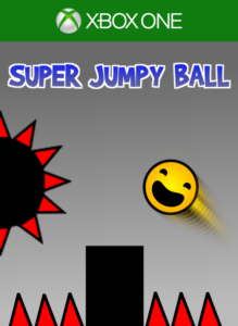 Super Jumpy Ball Xbox One Branded key art