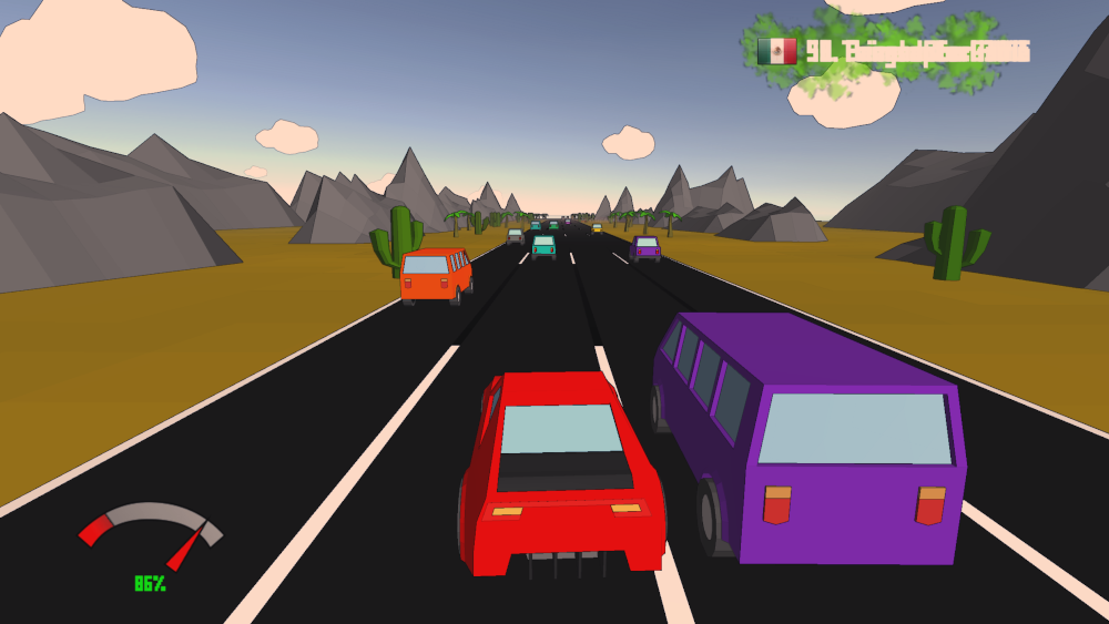 Pixel Driver - Infinite Driving Xbox One, Android, Windows Mobile, Windows Store