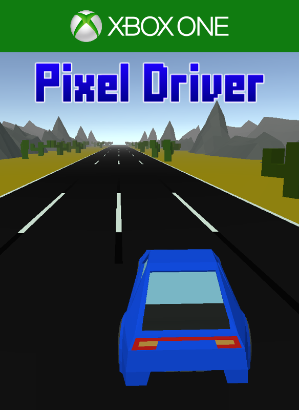 Pixel Driver - Branded key art