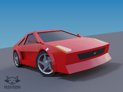 Pixel Driver concept car from Racoon Media