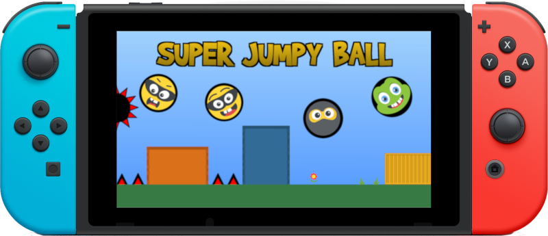 Super Jumpy Ball Play on Nintendo Switch & Xbox One