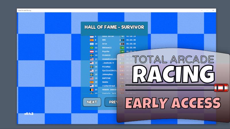 Total Arcade Racing Hall of fame